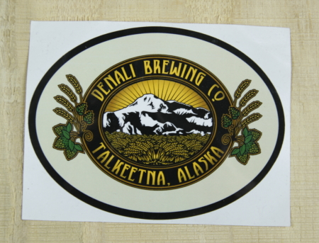 Denali Brewing Company Sticker