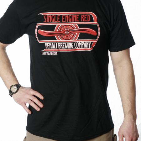 Single Engine Red T-shirt